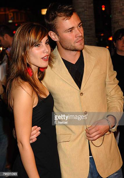 Patrick Flueger and Carly Pope