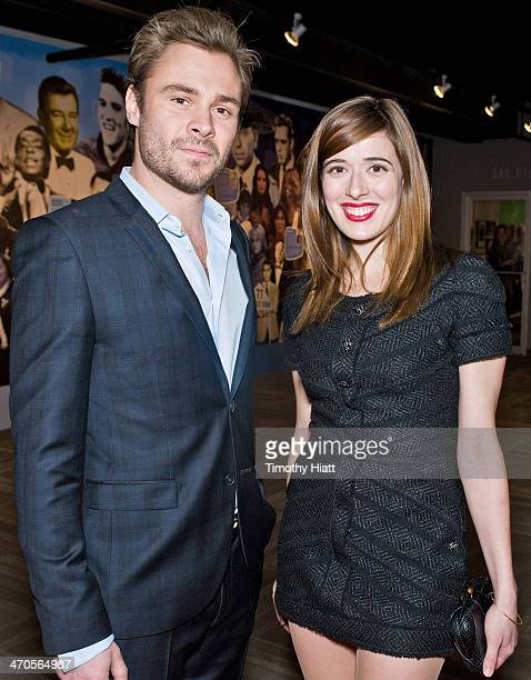 Patrick Flueger and Marina Squerciati appear in advance of a panel discussion at the Museum of Broadcast Communications in Chicago IL on February 19...