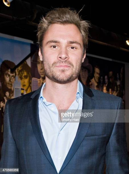 Patrick Flueger appears in advance of a panel discussion at the Museum of Broadcast Communications in Chicago IL on February 19 2014