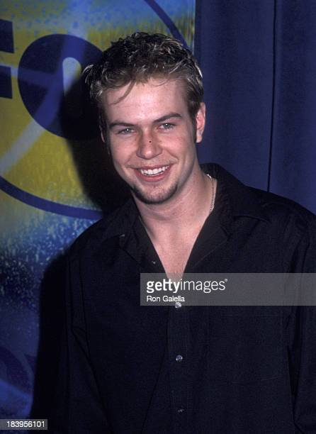 Patrick Flueger attends Fox TV Up Front Party on May 16 2002 at Pier 88 in New York City