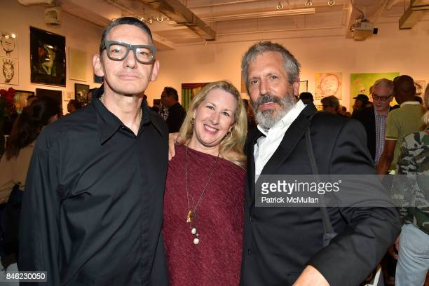 Patrick Fox Lee Arthur LaPlante and Mark Sink attend Love Among the Ruins A Short History of 56 Bleecker Gallery and Late 80s New York Exhibition...
