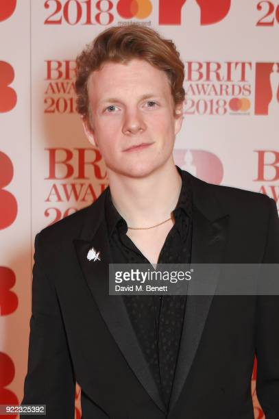 AWARDS 2018 *** Patrick Gibson attends The BRIT Awards 2018 held at The O2 Arena on February 21 2018 in London England