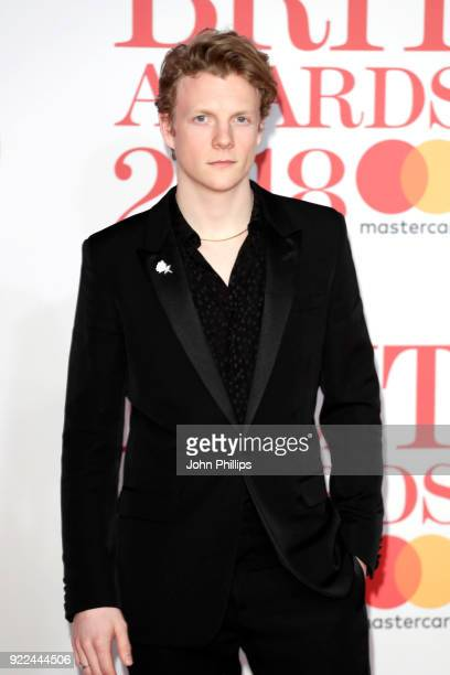 AWARDS 2018*** Patrick Gibson attends The BRIT Awards 2018 held at The O2 Arena on February 21 2018 in London England