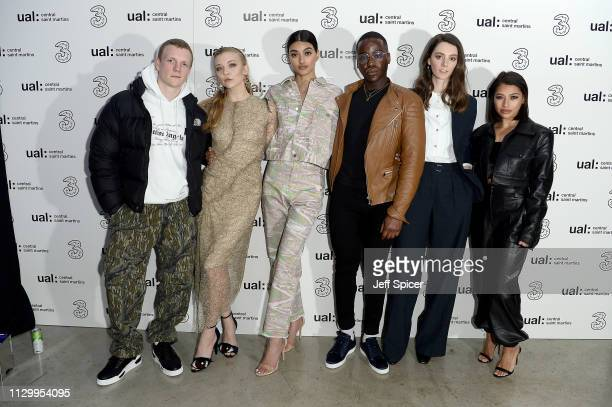 Patrick Gibson, Natalie Dormer, Neelam Gill, Ncuti Gatawa, Tanya Reynolds and Vanessa White attend the Three Fashion Fuelled by 5G After Party...