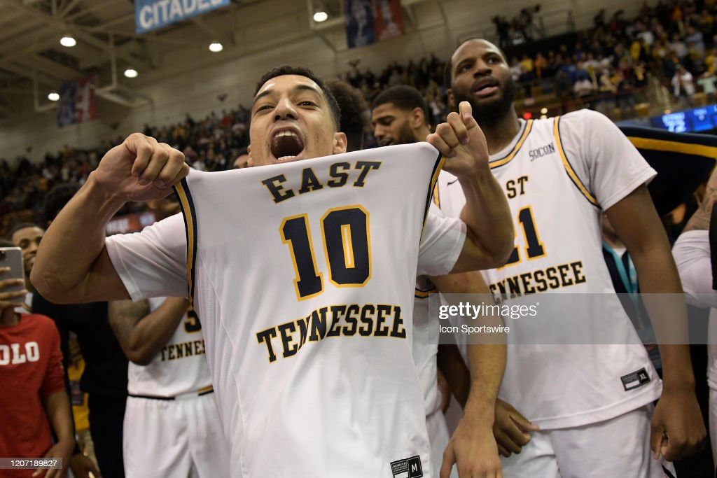 COLLEGE BASKETBALL: MAR 09 SoCon Championship - Wofford vs ETSU : News Photo