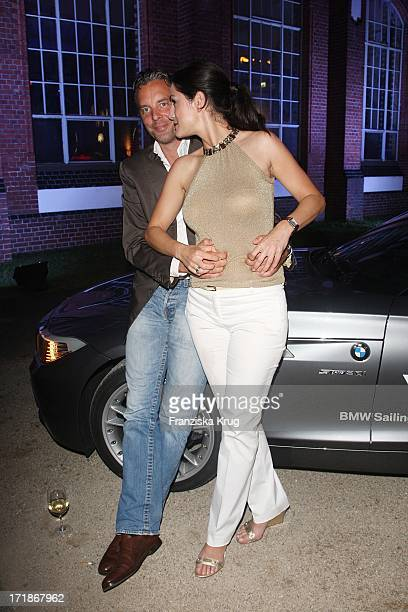 Patrick Graf Von Faber Castell With wife Mariella In The Bmw Sailing Cup gala in Berlin