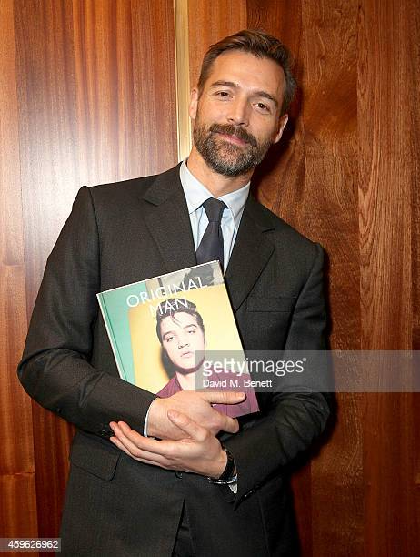 Patrick Grant attends the launch of Original Man The Tautz Compendum Of Less Ordinary Gentlemen hosted by Patrick Grant and Gestalten at E Tautz on...