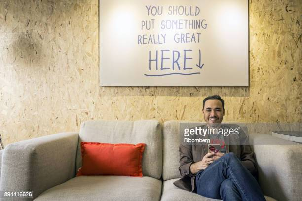 Patrick Grove chief executive officer of Catcha Group sits for a photograph at the company's office in Kuala Lumpur Malaysia on Monday Sept 5 2016...