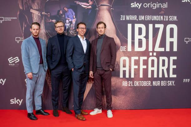 "DEU: ""Die Ibiza Affaire"" Premiere In Munich"