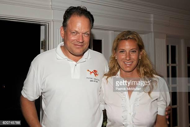 Patrick Handreke and Sara Handreke attend DreamWorks Pictures Screening of GHOST TOWN and After Party Hosted by SARA and PATRICK HANDREKE at GOOSE...