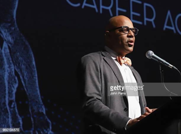 Patrick Harrison attends the 2018 Sarasota Film Festival on April 21 2018 in Sarasota Florida