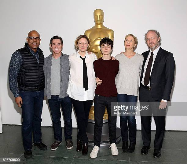 Patrick Harrison Director of New York Programs and Membership for Academy of Motion Picture Arts and Sciences Billy Crudup Greta Gerwig Lucas Jade...