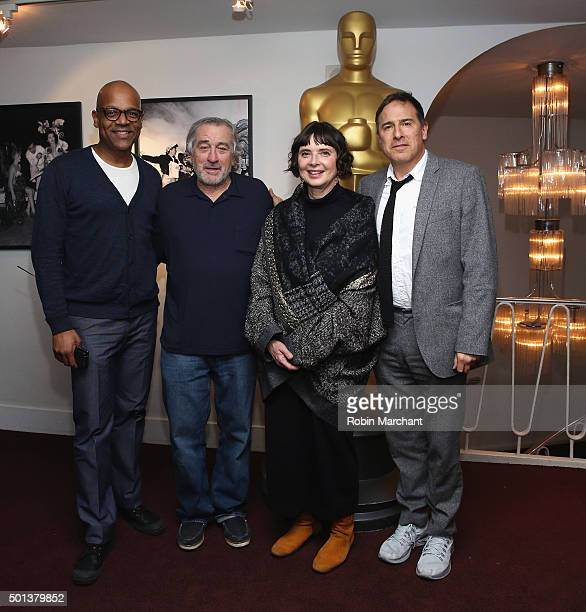 Patrick Harrison Director of NY Programs and Membership Academy of Motion Picture Arts and Sciences Robert De Niro Isabella Rossellini and David O...