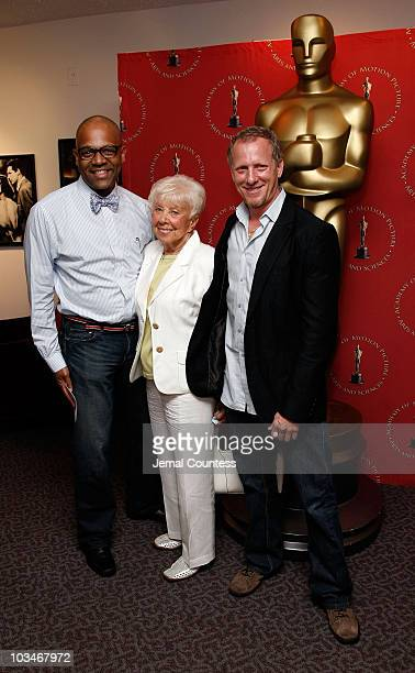 Patrick Harrison Events Director of the New York Chapter of the Academy of Arts and Sciences with Producer/Director Rob Epstein with his mother...