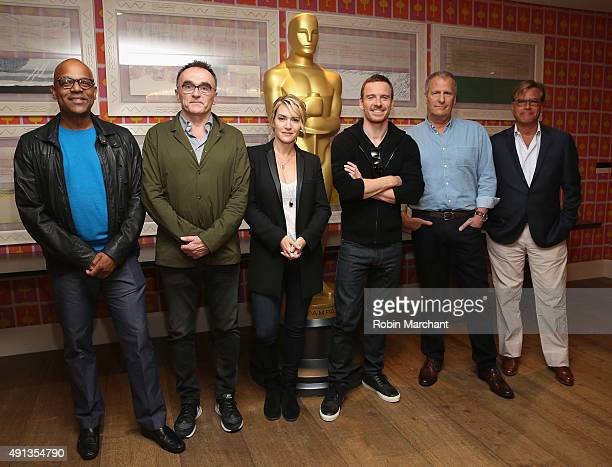 Patrick Harrison Program Director at The Academy of Motion Picture Arts and Sciences Danny Boyle Kate Winslet Michael Fassbender Jeff Daniels and...