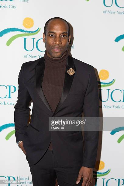 Patrick Hazlewood attends the 6th Annual UCP Of NYC Santa Project Party and auction benefiting United Cerebral Palsy of New York City at The Down...