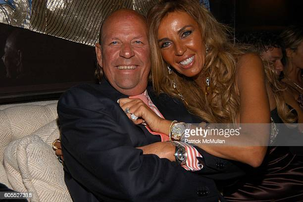 Patrick Heiniger and Nina Stevens attend Nikki Haskell Dinner at Nikki Haskell Penthouse on January 13 2006 in Beverly Hills CA