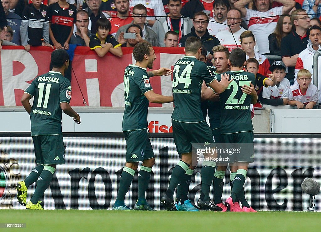 VfB Stuttgart v Borussia Moenchengladbach - Bundesliga : News Photo