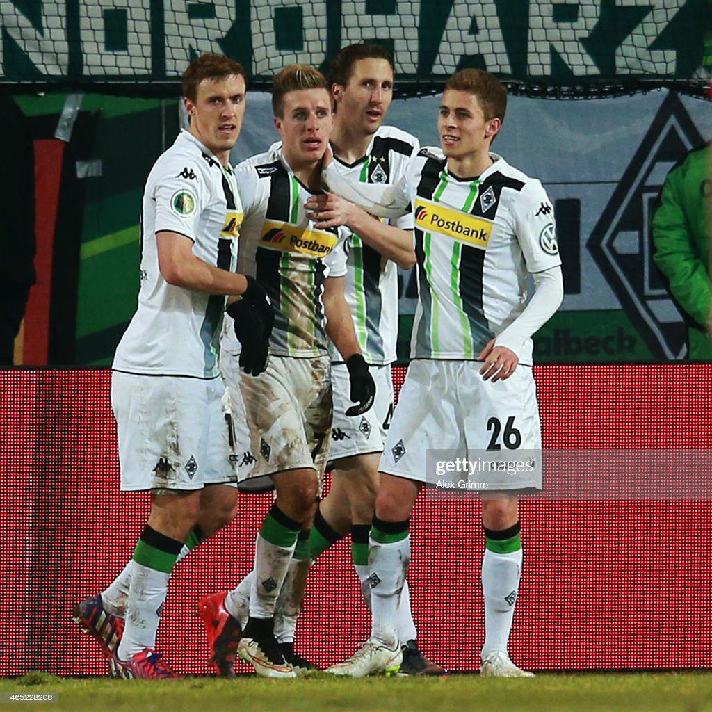 Kickers Offenbach v Borussia Moenchengladbach - DFB Cup