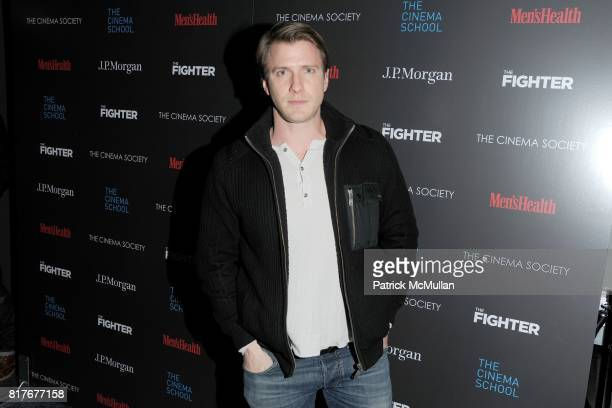 Patrick Heusinger attend THE CINEMA SOCIETY with MEN'S HEALTH JP MORGAN CHASE FOUNDATION screening of 'THE FIGHTER' to benefit THE CINEMA SCHOOL at...