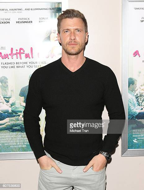 Patrick Heusinger attends the screening of Monterey Media's 'A Beautiful Now' held at Laemmle's Music Hall 3 on September 17 2016 in Beverly Hills...