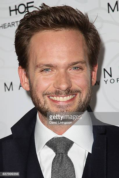 Patrick J Adams arrives at the Entertainment Weekly celebration honoring nominees for The Screen Actors Guild Awards at the Chateau Marmont on...