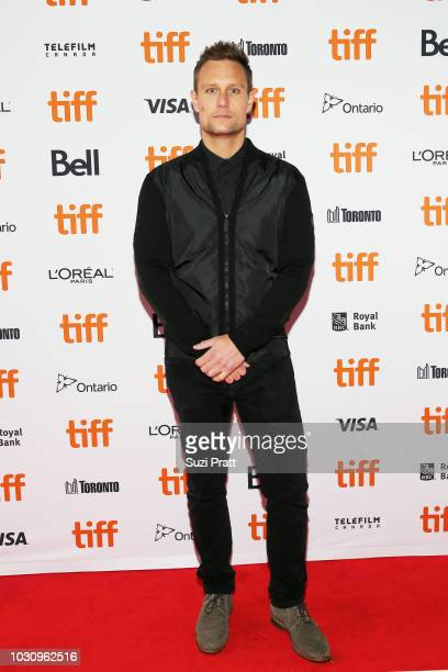 Patrick J Adams attends the 'Clara' premiere during 2018 Toronto International Film Festival at Ryerson Theatre on September 10 2018 in Toronto Canada