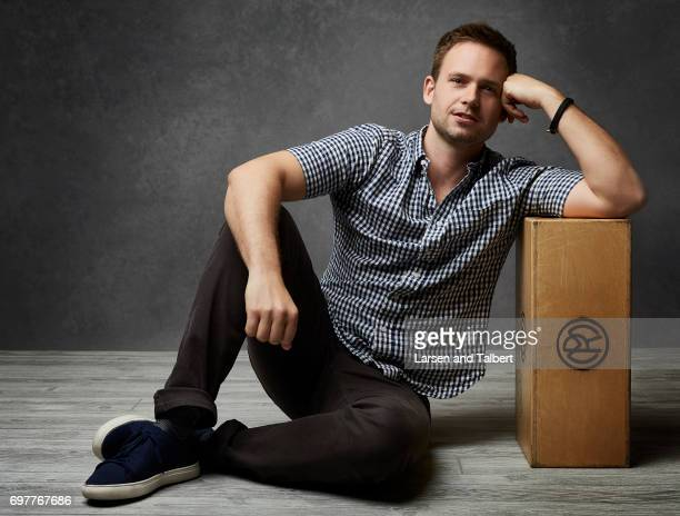 Patrick J Adams is photographed for Entertainment Weekly Magazine on June 9 2017 in Austin Texas