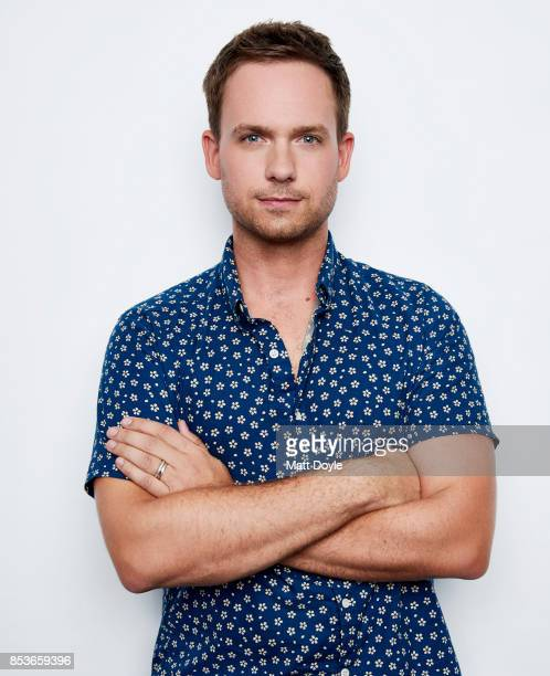 Patrick J Adams poses for a portrait at the Tribeca TV festival at Cinepolis Chelsea on September 23 2017