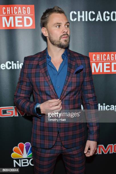 Patrick John Flueger attends the One Chicago party during NBC's 'One Chicago' press day on October 30 2017 in Chicago Illinois