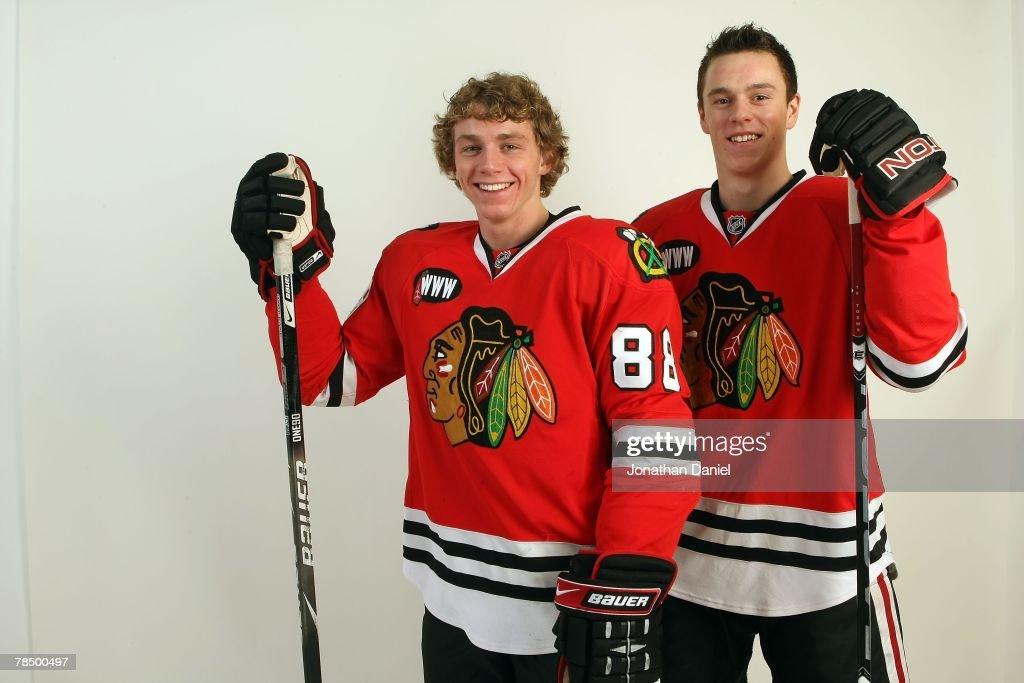 Chicago Blackhawks Photo Shoot : News Photo
