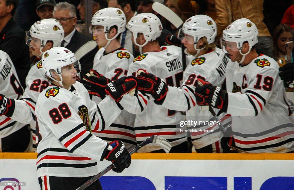 Chicago Blackhawks v Nashville Predators : News Photo
