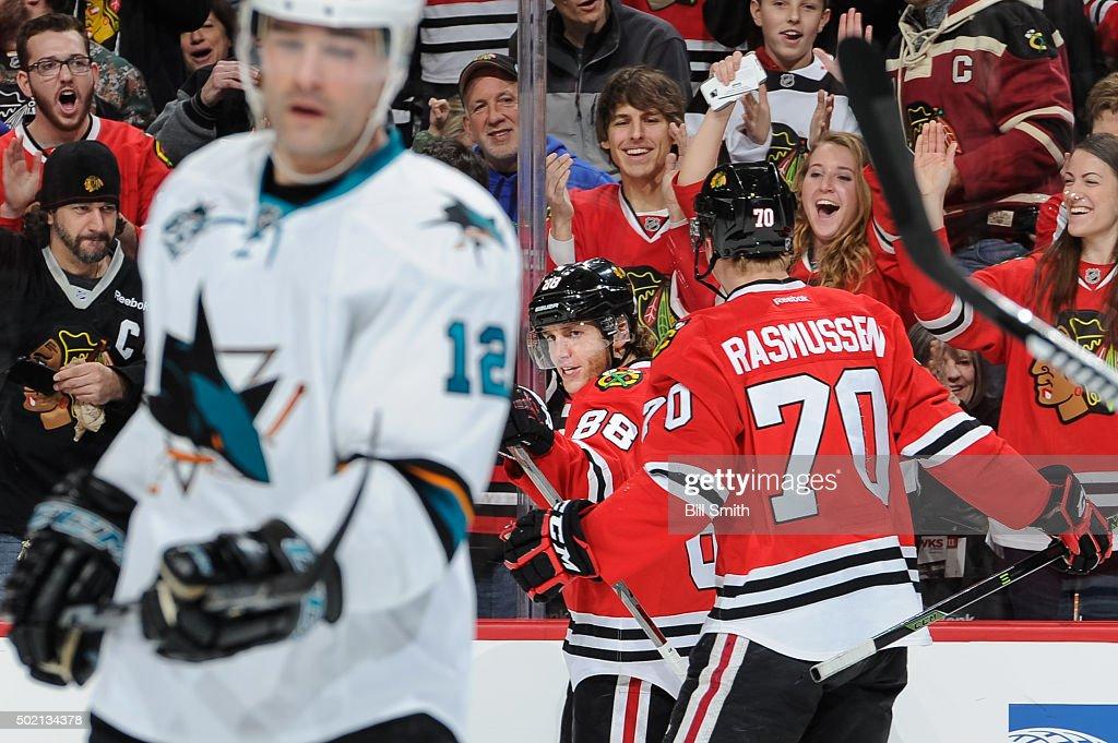 San Jose Sharks v Chicago Blackhawks