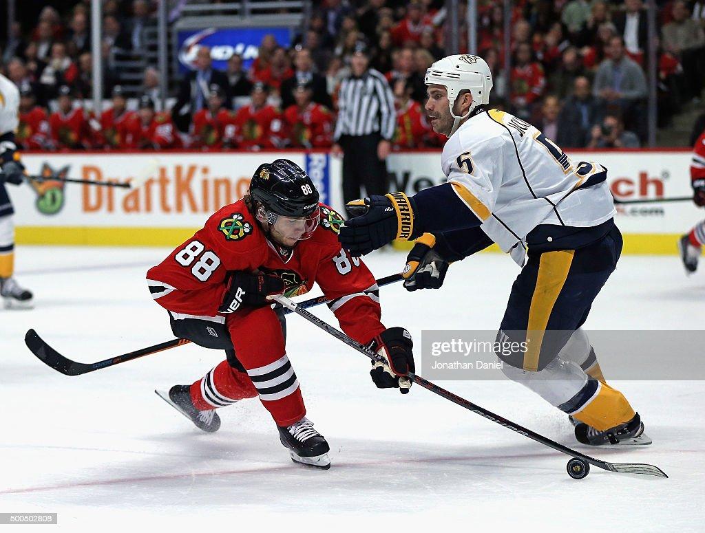 Nashville Predators v Chicago Blackhawks : News Photo