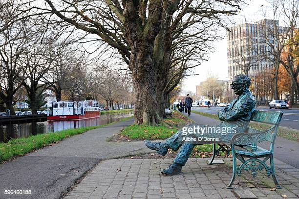 Patrick Kavanagh, Irish Poet, Statue, Dublin, Ireland