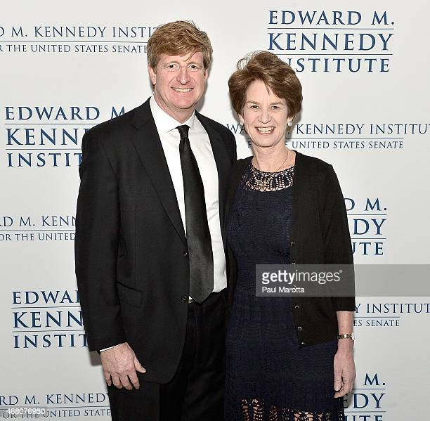 Patrick Kennedy and Kathleen Kennedy Townsend attend the Edward M. Kennedy Institute for the U.S. Senate Opening Night Gala and Dedication on March...