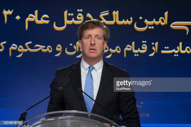Patrick Kennedy AuverssurOise France Iranians commemorated the 30000 political prisoners massacred in 1988 in Iran in an online conference...