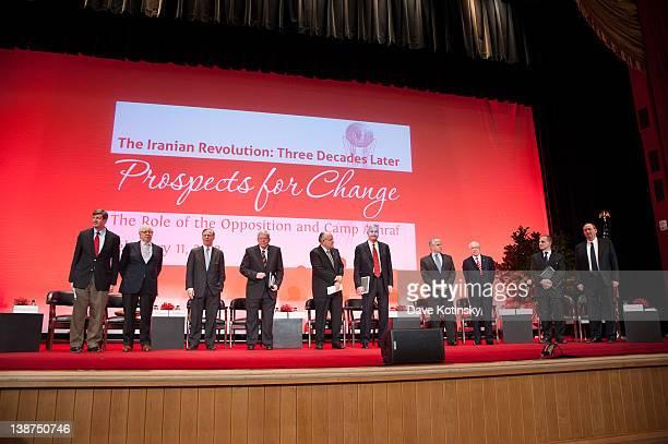 Patrick Kennedy, Carl Berstein, Howard Dean, Dennis Hastert, Rudy Giuliani, Gen. Hugh Shelton, Gen. George Casey, Michael Mukase, Louis Freeh and...