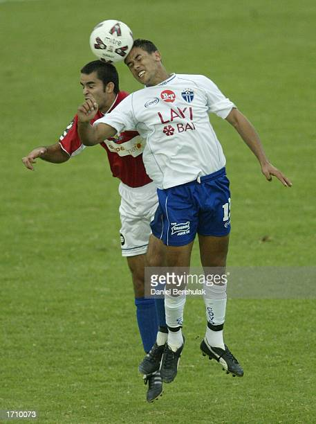 Patrick Kisnorbo of South Melbourne in action during the NSL round 16 match between Sydney United and South Melbourne at the Sydney United Sports...