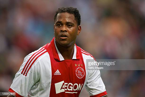 Patrick Kluivert during the Edwin van der Sar Testimonial at the Amsterdam Arena on August 32011 in AmsterdamNetherlands