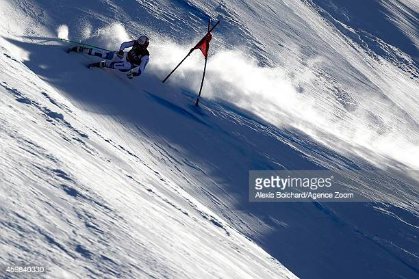 Patrick Kueng of Switzerland competes during the Audi FIS Alpine Ski World Cup Men's Downhill Training on December 02 2014 in Beaver Creek Colorado