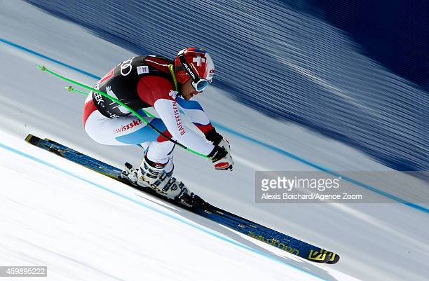 Patrick Kueng of Switzerland competes during the Audi FIS Alpine Ski World Cup Men's Downhill Training on December 03 2014 in Beaver Creek Colorado