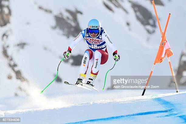 Patrick Kueng of Switzerland competes during the Audi FIS Alpine Ski World Cup Men's Downhill on December 3 2016 in Val d'Isere France