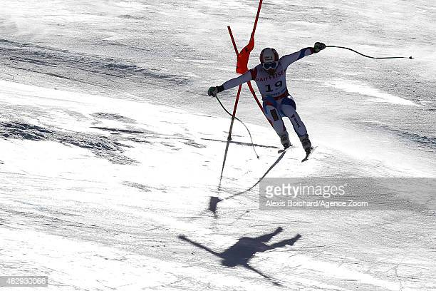 Patrick Kueng of Switzerland wins the gold medal during the FIS Alpine World Ski Championships Men's Downhill on February 7 2015 in Beaver Creek...