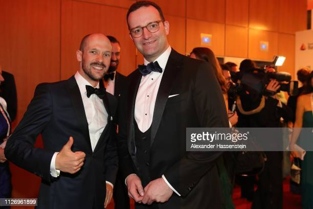 Patrick Lange attends with Jens Spahn the Ball des Sports 2019 at RheinMainCongressCenter on February 02 2019 in Wiesbaden Germany