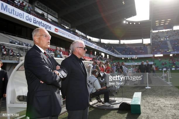 Patrick LE LAY / Francois PINAULT Rennes / Saint Etienne 3eme journee de Ligue 1