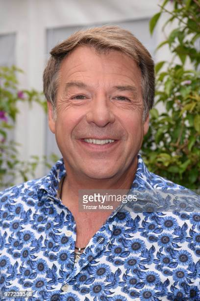 Patrick Lindner during the ARD live tv show 'Immer wieder sonntags' at EuropaPark on June 17 2018 in Rust Germany