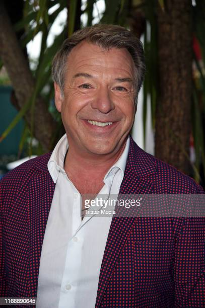 Patrick Lindner during the Immer wieder sonntags ARD Live TV show at EuropaPark on September 8 2019 in Rust Germany