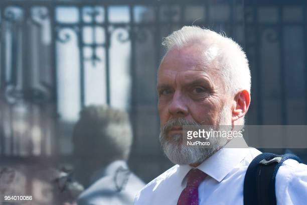 Patrick Lynch the National Director Quality Assurance and Verification Division of HSE arrives at Leinster House to attend an Oireachtas Joint...