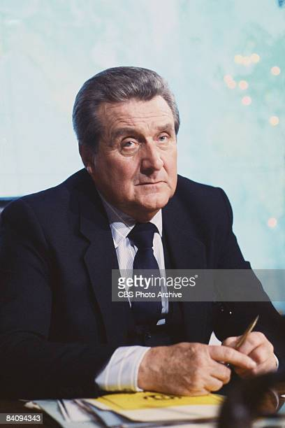 Patrick Macnee stars as Sir John Raleigh in the spy series 'The Man From UNCLE', 1965. United States.